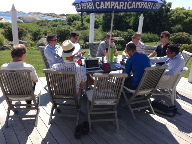 Board meeting for Masterstudies.com